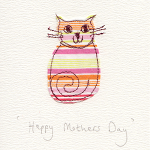 mothers day cat handmade card